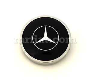 Mercedes 300 Sl Gullwing 1954 57 Black Complete Horn Button New