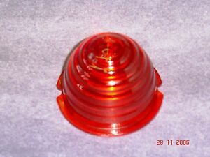 Mercedes 300 Sl Gullwing 1954 57 Red Front Round Turn Signal Lens