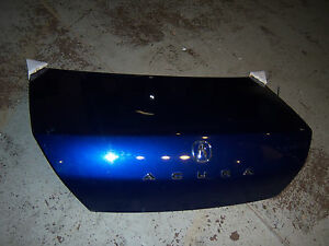 2001 Acura Cl Type S Blue Oem Trunk Deck Lid 2002 2003