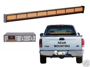 Sho me 11 2741p a00 Amber Led Signal Stick made In Usa