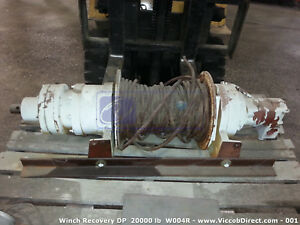Recovery Winch Dp 20000 Lbs 10 Ton For Utility Trucks Tow Wreckers Cranes