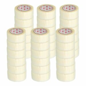 Hotmelt Clear Packing Tape Box Shipping 3 Mil 2 X 55 Yards 36 Rolls Per Case