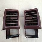 Porsche 968 944 Turbo S2 Brown Dashboard Heating Vents Dash Air Vents In Brown