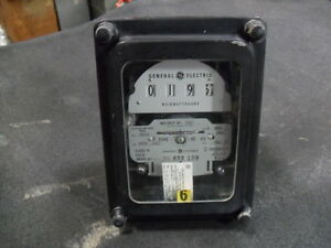 Used General Electric 700x63g970 Polyphase Watthour Meter Ds 63