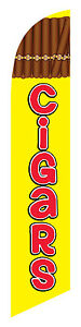 Cigars Feather Banner Swooper Flag Kit Includes Pole Kit Spike