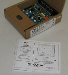 Kb kbic 240ds penta Power Dual Voltage 90 vdc Dc Motor Control 1 100 1 Hp Nib