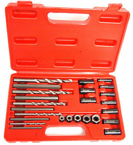 25pc Screw Extractor Drill Bit And Guide Set
