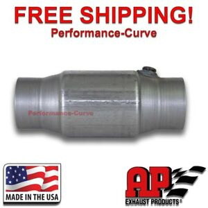 3 Catalytic Converter O2 High Flow For Late Models Federal Emissions