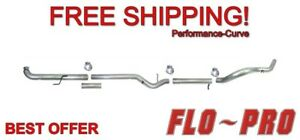 4 Exhaust System No Muffler Flo pro 801nm Fits 01 07 Gm Duramax 6 6l