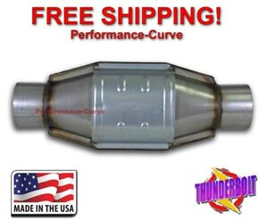 3 Catalytic Converter High Flow Thunderbolt Obdi 590007