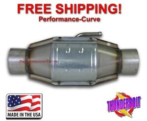 3 Catalytic Converter High Flow Thunderbolt Obdi Air 610007
