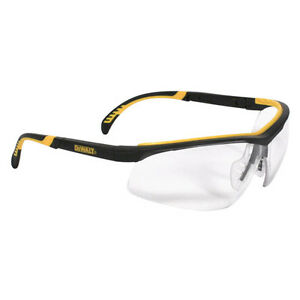 Dewalt Dpg55 11d Clear Anti fog Protective Safety Glasses Rubber Frame Temples