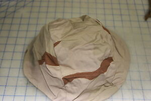 pasgt helmet cover US desert DCU 3 color NEW X small small airsoft camo $9.99