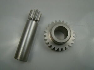Cadmium Plated Ring And Pinion Gear
