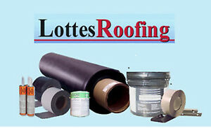 Epdm Rubber Roofing Kit Complete 50 000 Sq ft