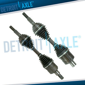 Front Driver Passenger Side Cv Axle Shaft W O Abs 5 Lug Wheels Only No Zr2