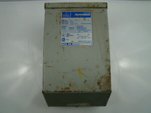 General Electric 3 Kva Transformer 600vx120 240v 9t51b93