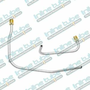68 69 70 71 Mopar Pump To Carb Carburetor Fuel Lines 440 3x2 Carbs2pc Lower Set