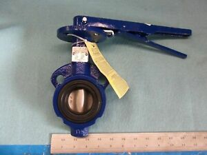 New Keystone 723 703 020 Butterfly Valve With Handle Industrial Made In China