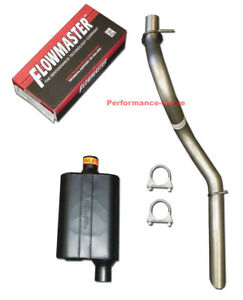 1997 2000 Jeep Wrangler Performance Exhaust W Flowmaster Super 44 Muffler
