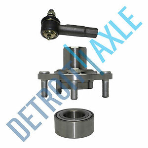 Front Wheel Hub And Bearing No Abs Outer Tierod For Nissan Altima Maxima