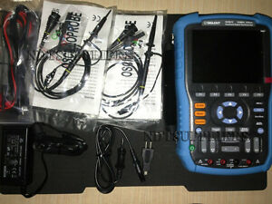 New Siglent Shs815 Digital Oscilloscope Scopemeter Multimeter 150mhz 2mkpts