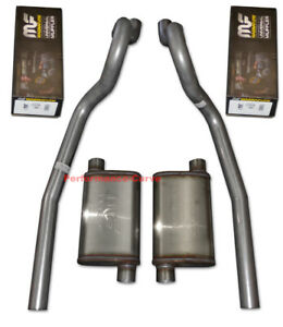 86 04 Ford Mustang Gt Exhaust System W Magnaflow Mufflers