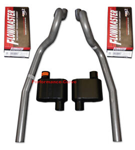 86 04 Ford Mustang Gt Exhaust System W Flowmaster Super 10 Mufflers