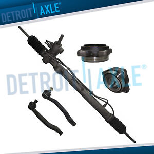 Rack And Pinion 2 Front Wheel Bearings Outer Tie Rod Ends 2 3l