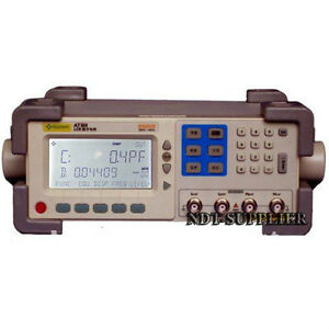 New At811 Digital Lcr Meter Tester 100hz 120hz 1khz 10khz