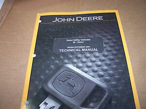 John Deere M gator Utility Vehicles Technical Manual Tm1804