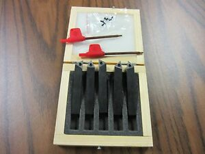 3 8 Indexable Turning Tool Bits 5pcs set Tcmt22 Inserts Part tobc381 new