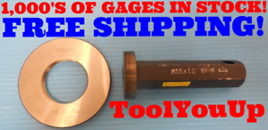 M55 X 1 0 Metric Thread Plug Ring Gage 55 0 1 Inspection Tooling Machinist
