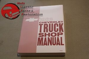 Chevy Pickup 63 Chevy Truck Shop Manual