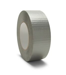 144 Rolls Silver Duct Tape 2 X 60 Yards 6 Mil Box Packing Tape