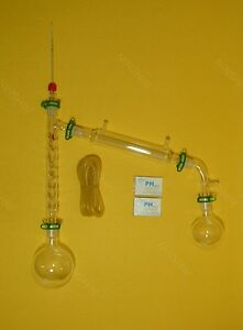 500ml 24 29 distillation Apparatus vacuum Distillation Kit With Vigreux Column