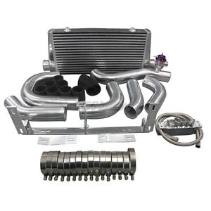 Cxracing Front Mount Intercooler Kit For 96 04 Ford Mustang 4 6l V8 Supercharger