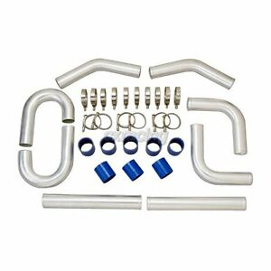 Cxracing Universal 2 75 Al intercooler Piping Kit For Subaru Impreza Wrx Sti