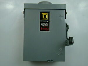 Square D 240v Safety Switch Du221rb