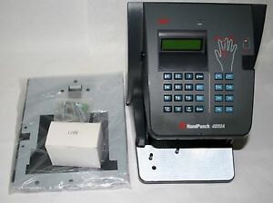Novatime New Handpunch Hp 4000 Biometric Hand Scanner Time Clock W Ethernet Rsi