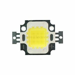 10w Watt Cool White High Power Led Panel Plant Growth Smd Chip Light 5000 7000k