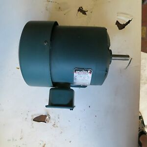 New Electric Reliance 1 Hp Horsepower Motor duty Master A c 1725 Rpm 3 Ph 4 4 A