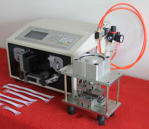 New Swt508 px Compter Wire Cable Stripping Cutting Peeling Sub line Machine