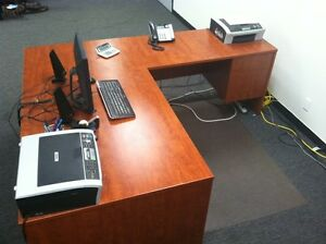 Executive Office Desk L Shape