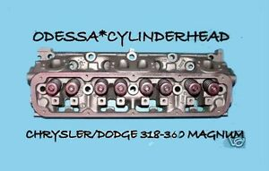 1 Chrysler Dodge Dakota Magnum Ram 5 2 5 9 Ohv 318 360 Cylinder Head 92 04 Reman