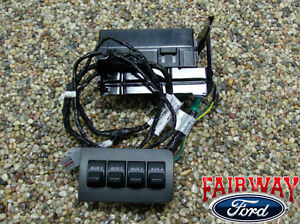 11 Thru 16 Super Duty F250 F350 F450 F550 Oem Ford In Dash Upfitter Switch Kit