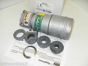 New Appleton Arc6044bc 60 amp Pin sleeve Connector 60a 600v Acp6044bc 4w 4p Nib