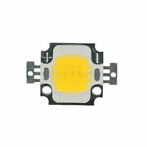 5pcs10w Watt Warm White High Power Led Panel Plant Growth Lamp Light 9 12v Chip