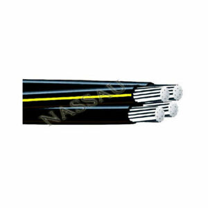 150 4 4 4 4 Tulsa Aluminum Urd Cable Direct Burial Wire
