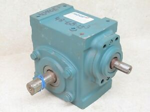 Dodge Tigear2 5 1 Ratio Speed Reducer Shaft Drive 430 Inch Pounds